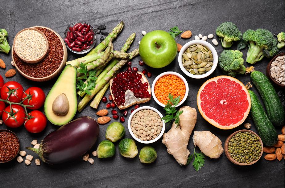 imagem de alimentos saudáveis que aumentam imunidade